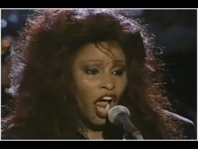 Chaka Khan mit Melvin Lee Davis am Bass