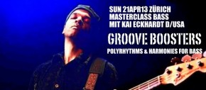 GROOVE BOOSTERS - Polyrhythms & Harmonies for Bass