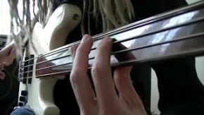 Funky Fretless Bass Grooves with Double Stops
