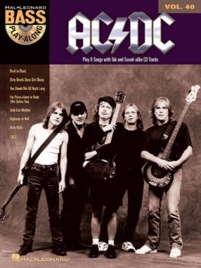 AC/DC: Bass Play-Along Volume 40