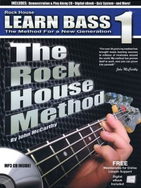 Learn Bass 1 - The Rock House Method