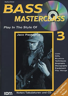 Play in the Style of Jaco Pastorius