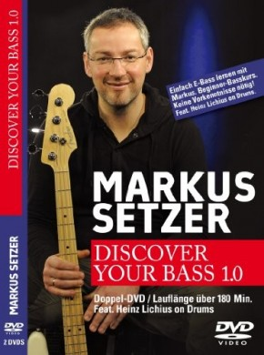 Markus Setzer - Discover your Bass 1.0 (2 DVDs)