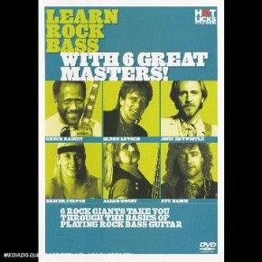 Hot Licks - Learn Rock Bass With 6 Great Masters! [UK Import]