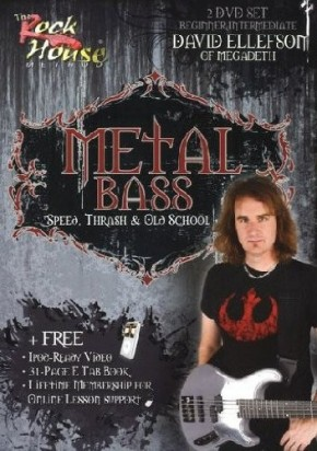 Metal Bass with David Ellefson [2 DVDs]