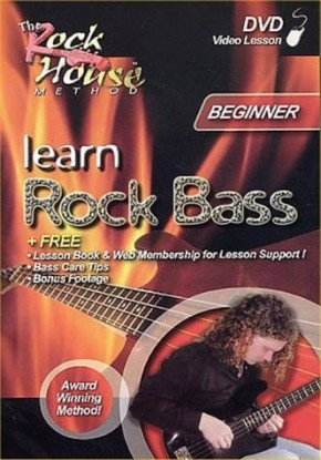 Chris McCarvill - Learn Rock Bass - Beginner [UK Import]