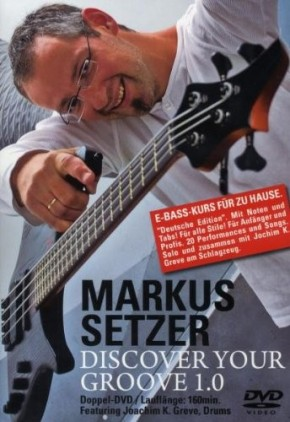 Markus Setzer - Discover your Groove 1.0 (2 DVDs)