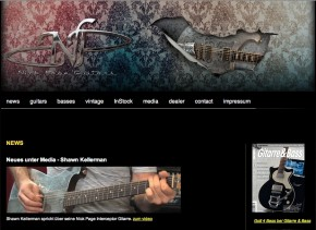 Nick Page Guitars