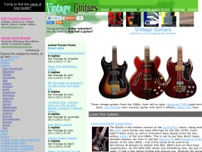 Vintage Guitars and Basses