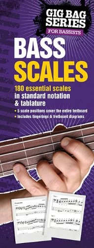 The Gig Bag Book of Bass Scales