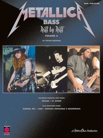 Metallica Bass: Bass Riff by Riff Volume 2