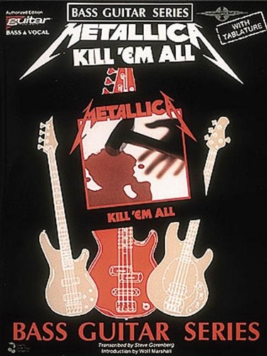 Metallica: Kill 'em All: Bass Guitar and Vocal