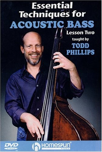 Todd Phillips - Essential Techniques For Acoustic Bass - Lesson 2 [UK Import]