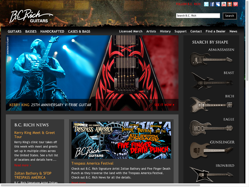 B. C. Rich Guitars