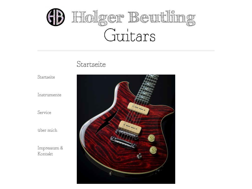 Holger Beutling Guitars