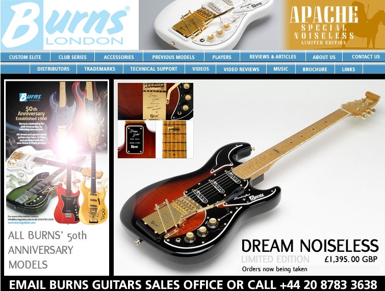 Burns Guitars London