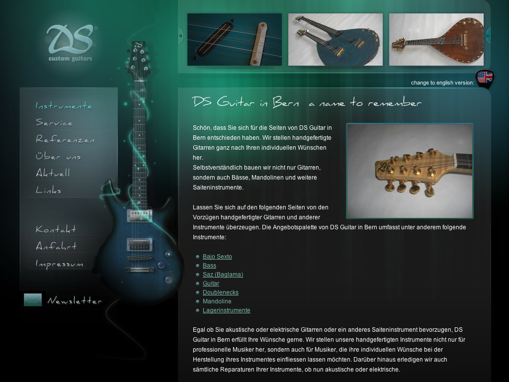 DS Custom Guitars