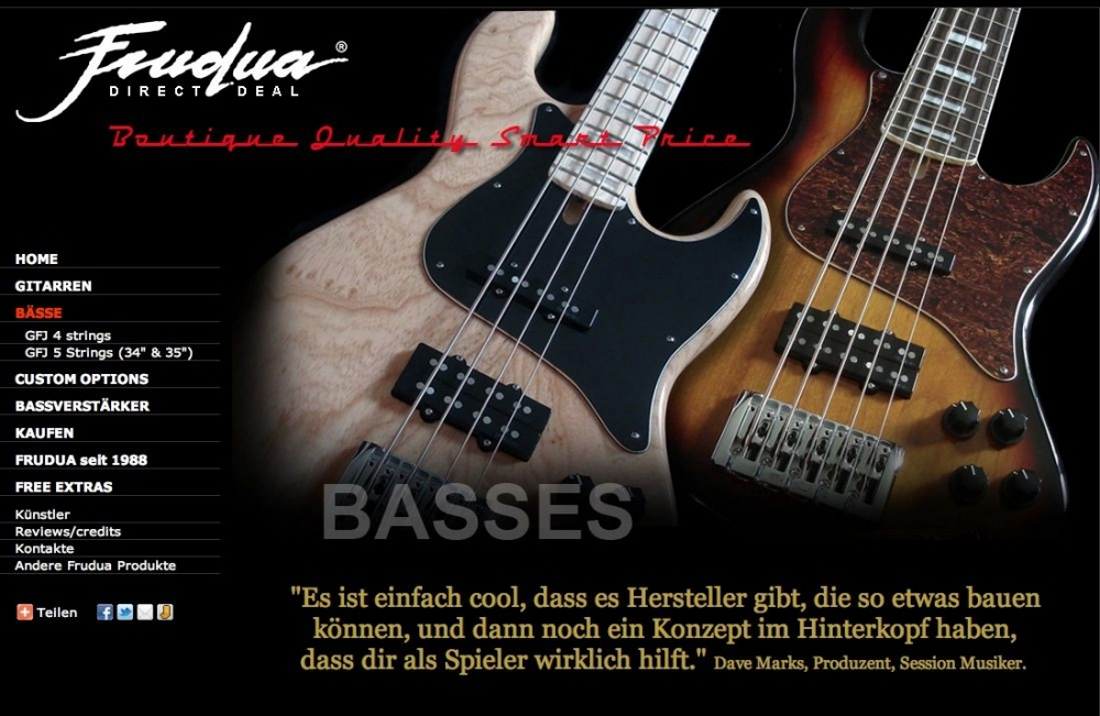 Frudua - Direct Deal Basses