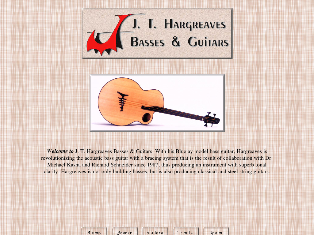 J. T. Hargreaves Bass Guitars