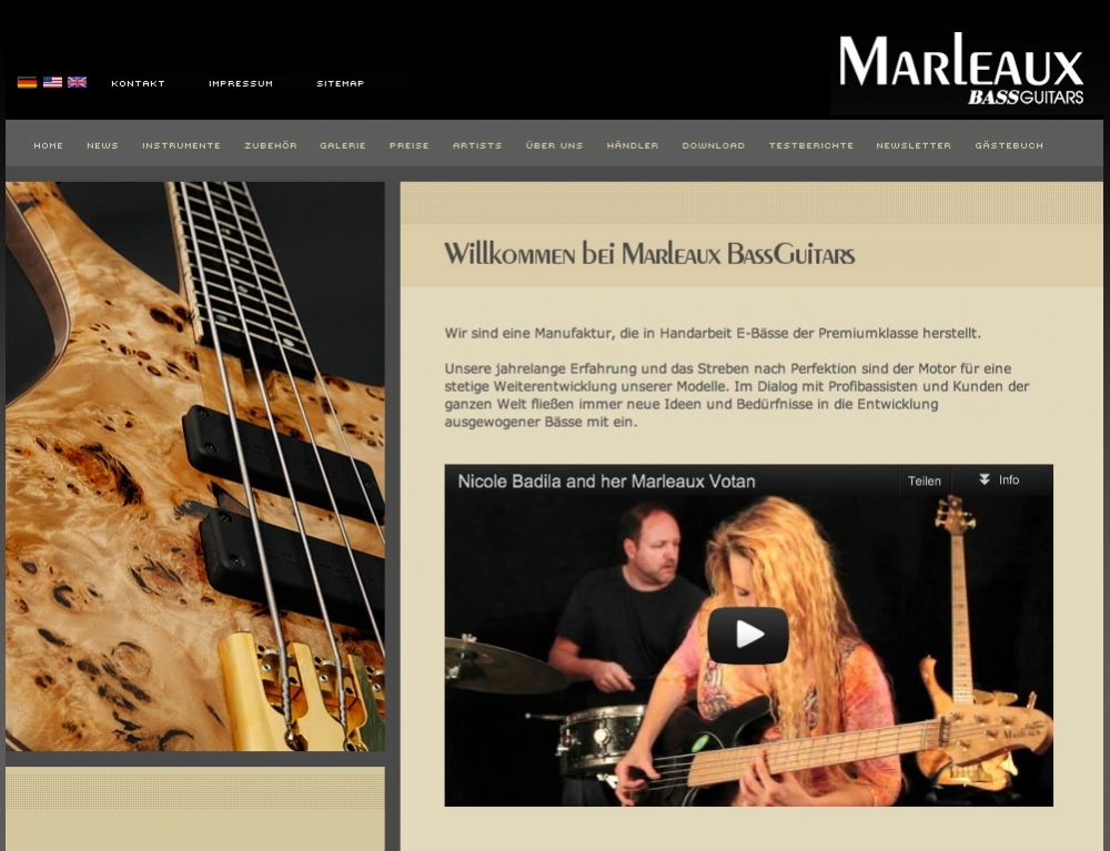 Marleaux Bass Guitars