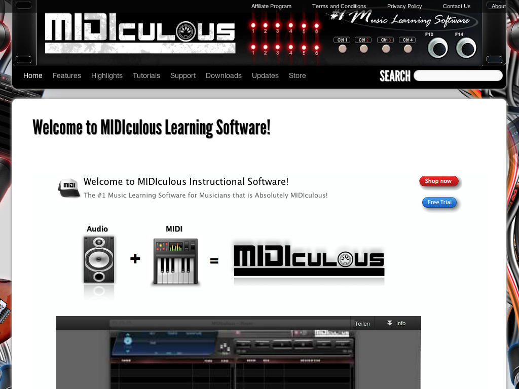MIDIculous Learning Software