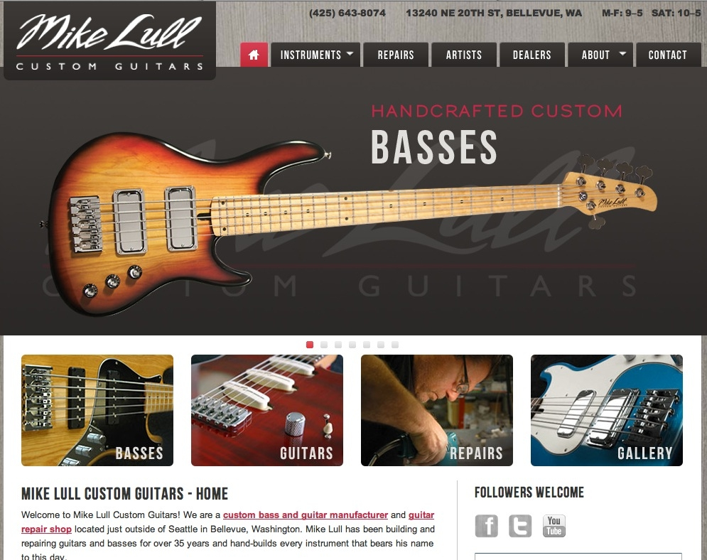 Mike Lull Custom Guitars
