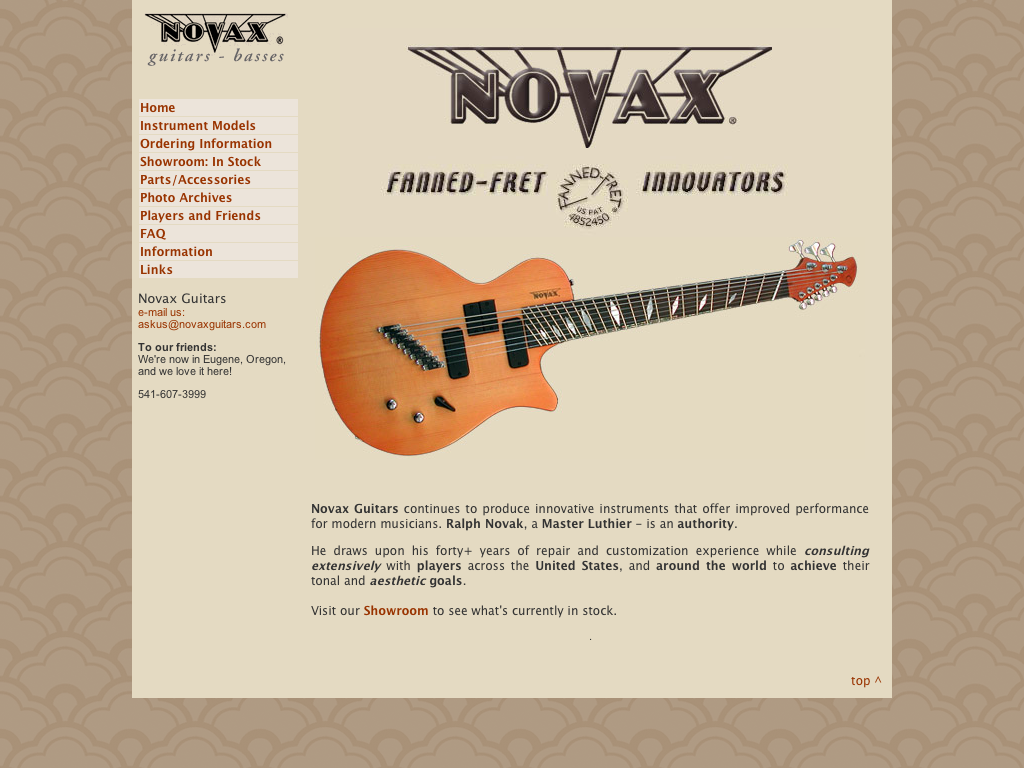 Novax - Guitars and Basses