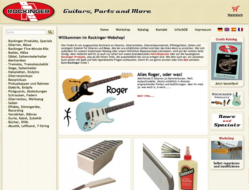 Rockinger Guitars