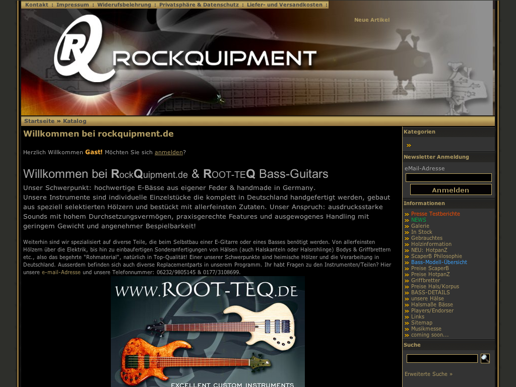 ROOT-TEQ Bass-Guitars
