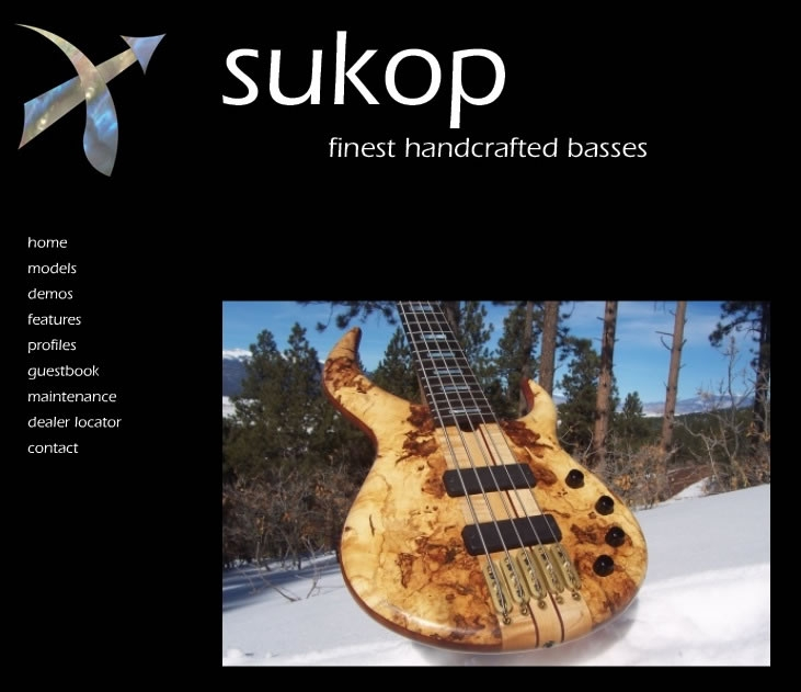 Sukop – Finest Handcrafted Basses
