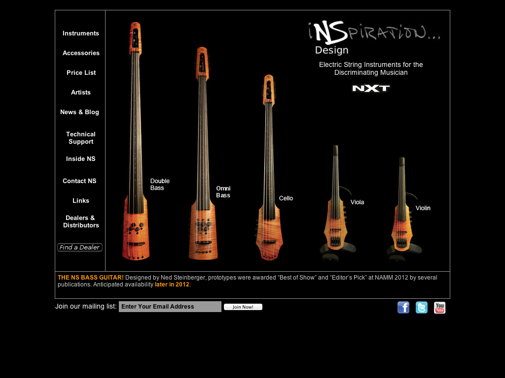 NS Design (Ned Steinberger)