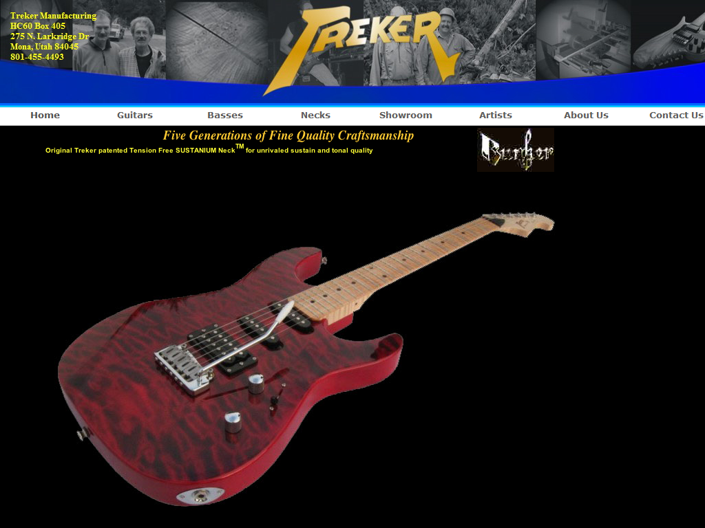 Treker Guitars