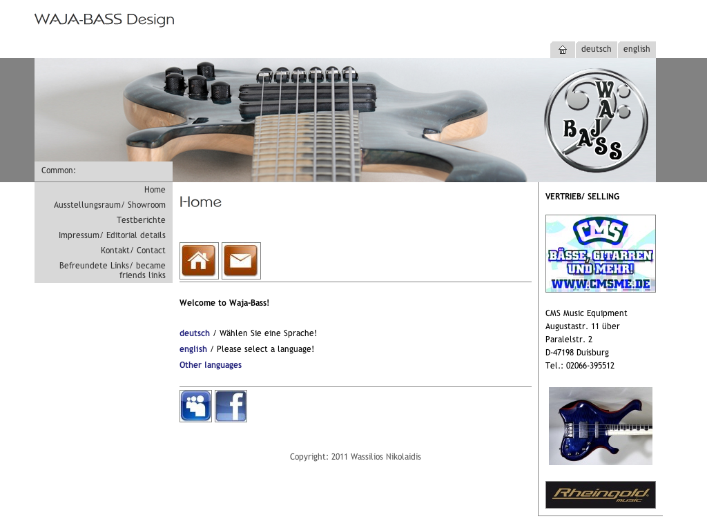 Waja Bass Design